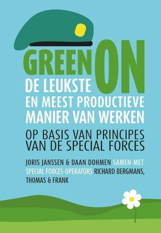 Boek cover Green on van Joris Janssen (Hardcover)