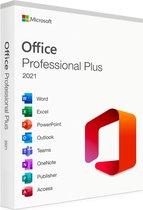 Microsoft Office 2021 Professional Plus - voor 1 PC - Meerdere Talen - Levenslange Licentie - Retailverpakking