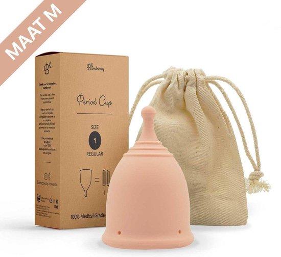 Bamboozy Menstruatiecup Maat  M Herbruikbare Menstruatie Cup Period Duurzaam Menstrueren Zero Waste