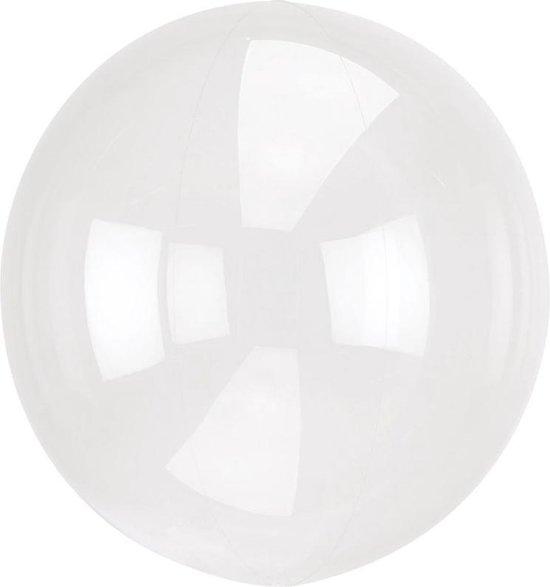 Ballonnen Orb Crystal Clear - 46 Centimeter