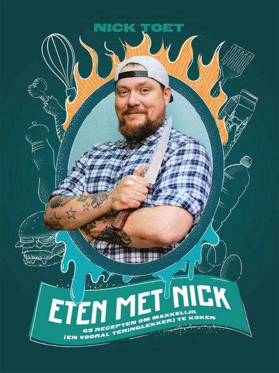 Boek cover Eten met Nick van Nick Toet (Hardcover)