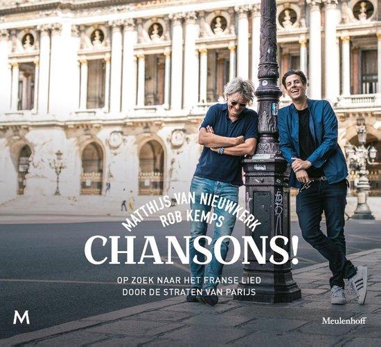 Boek cover Chansons! van Matthijs van Nieuwkerk (Paperback)