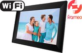 "Denver PFF-1024 Black - 10.1"" digitale fotolijst - fotokader - FRAMEO software 16GB - IPS touchscreen - Zwart"