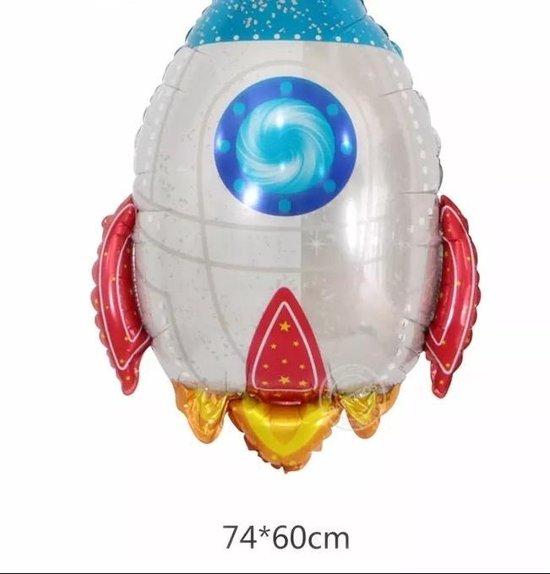 Ballon Raket , 75 cm KinderCrea
