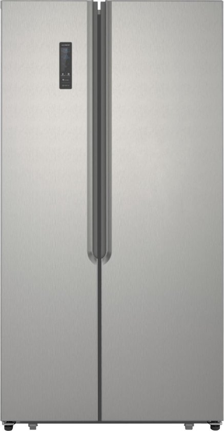 Koelkast: Exquisit SBS135-040FI - Amerikaanse koelkast - Inox, van het merk Exquisit