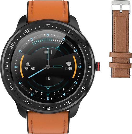 Stenlille Actío Watch - Smartwatch – Bruin/ Zwart