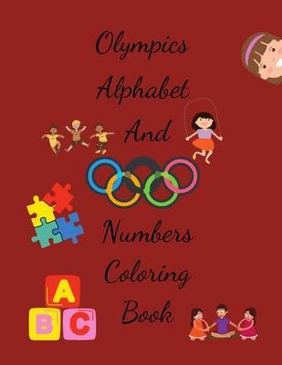 Olympics Coloring Book