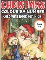 Christmas Colour by Number for Kids Ages 4-8