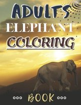 Adults Elephant Coloring Book