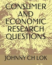 Consumer and Economic Research Questions