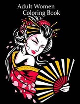Adult Women Coloring Book