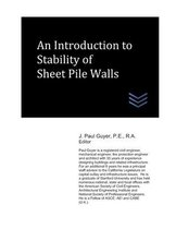 Omslag An Introduction to Stability of Sheet Pile Walls