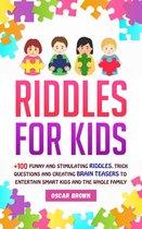 Omslag Riddles For Kids