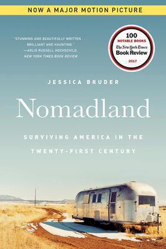 Boek cover Nomadland: Surviving America in the Twenty-First Century van Jessica Bruder (Onbekend)