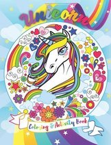UNICORN Coloring & Activity Book