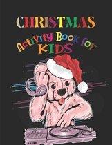Christmas Activity Book For Kids: Christmas Countdown Activity Book For Kids 4-8 Year Old