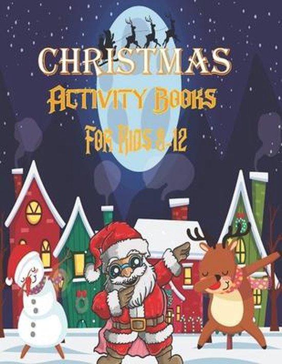 Christmas Activity Books For Kids 8-12