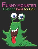 funny monster Coloring Book For Kids