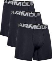 Under Armour Charged Cotton 6in 3 Pack Sportonderbroek  Heren - Maat L