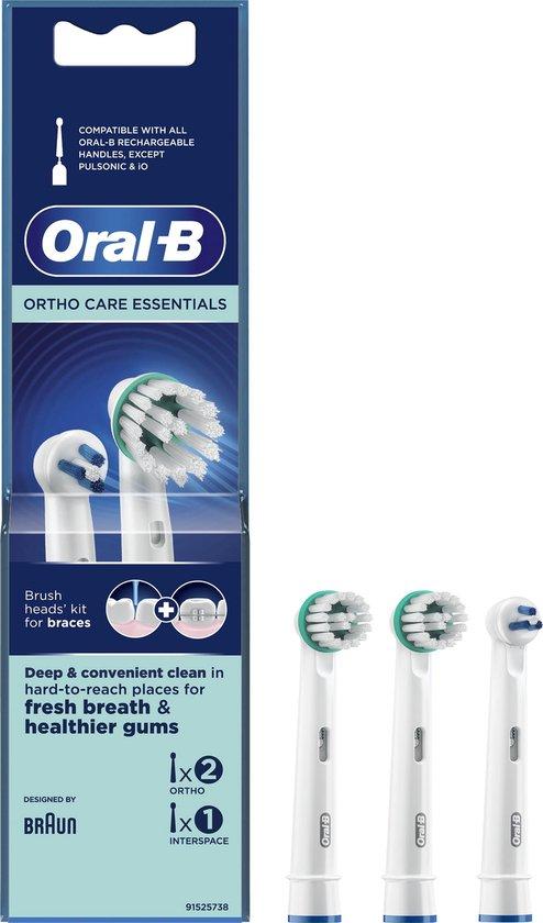 Oral-B Ortho Care - Opzetborstels - 3 stuks