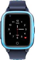 Kinder smartwatch Watcher IV touch 4G -  horloge met GPS - blauw -  incl. SIM-kaart