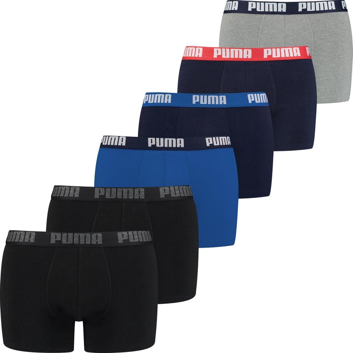PUMA BASIC BOXER Mannen 6P  - Maat XL