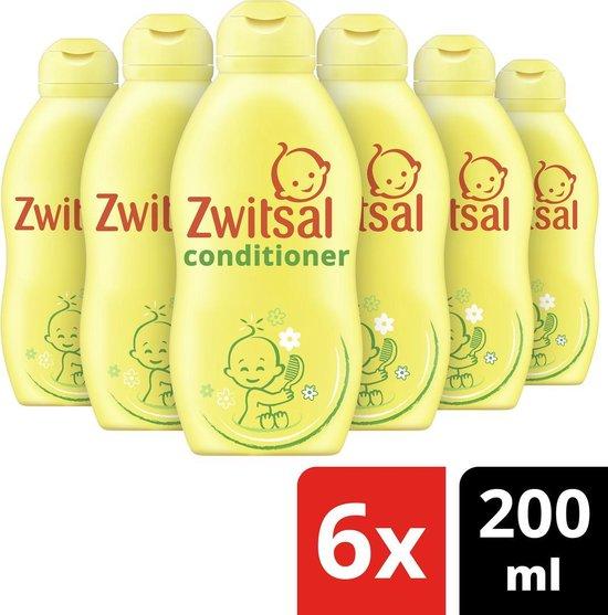 Zwitsal Conditoner - 6 x 200 ml - Voordeelverpakking