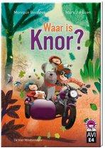 Hoera, ik kan lezen!  -   Waar is Knor?