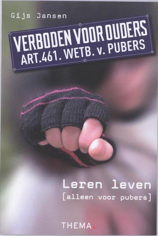 Boek cover Verboden voor ouders van Gijs Jansen (Paperback)