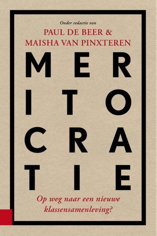 Boek cover Meritocratie van  (Paperback)