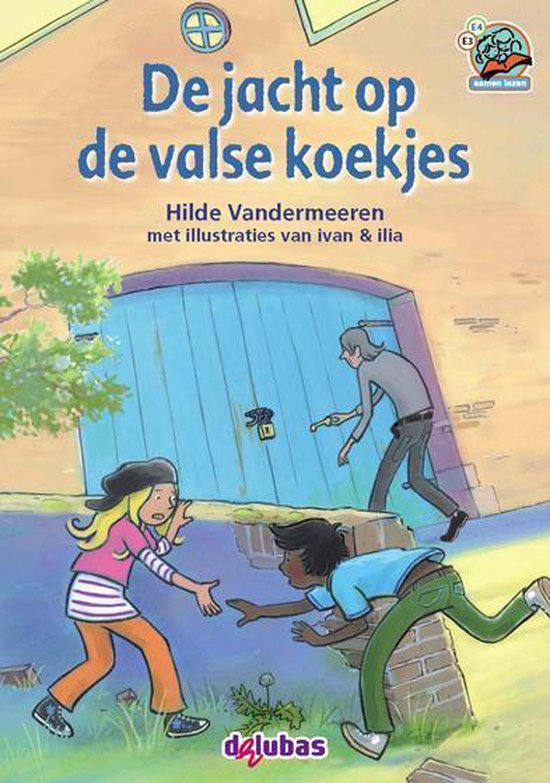 Boek cover Samenleesboeken  -   De jacht op de valse koekjes van Hilde Vandermeeren