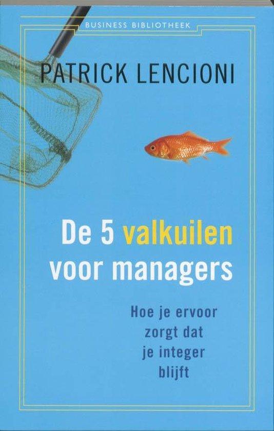 Business bibliotheek  -   De 5 valkuilen voor managers