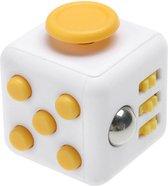Tokomundo Fidget Cube tegen Stress - Fidget Toys - Speelgoed Meisjes en Jongens - Geel