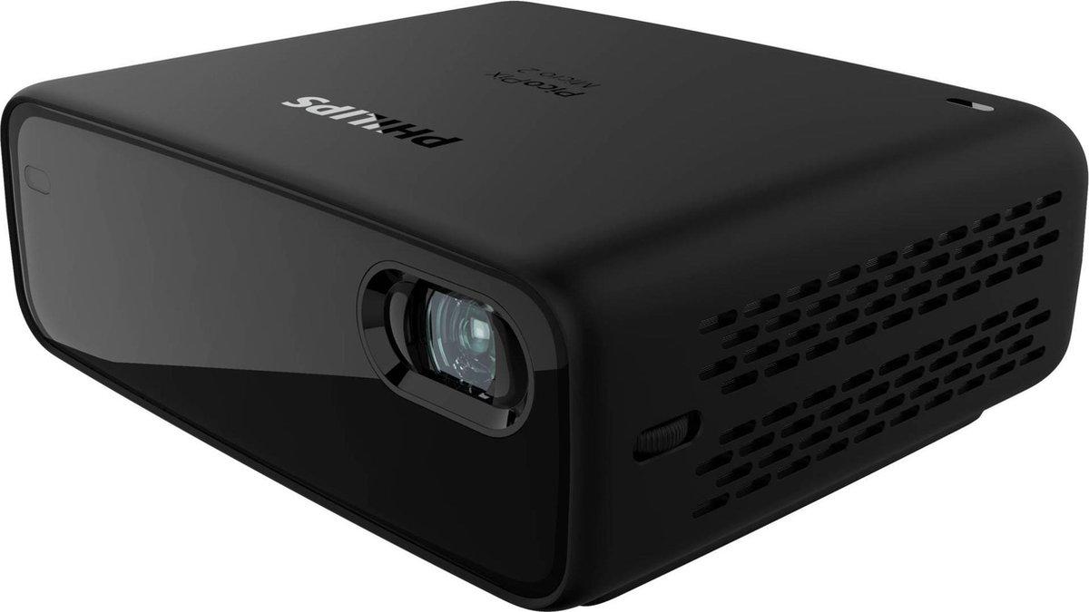 Philips PicoPix MICRO 2 PPX340 - Smart Mini Beamer - Ingebouwde Accu - 2021 uitvoering
