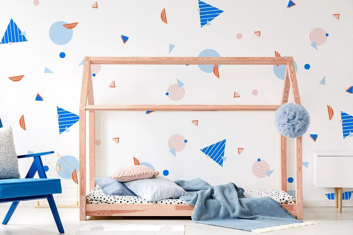 Striped Memphis Wall Stickers Uniek ontwerp, uitstekende kwaliteit muurstickers - mini sticker - behang - muursticker - slaapkamer - woonkamer - babykamer - kinderkamer - ministicker