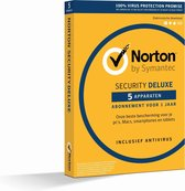 Norton Security Deluxe 3.0 (1 User / 5 Devices) (Dutch)
