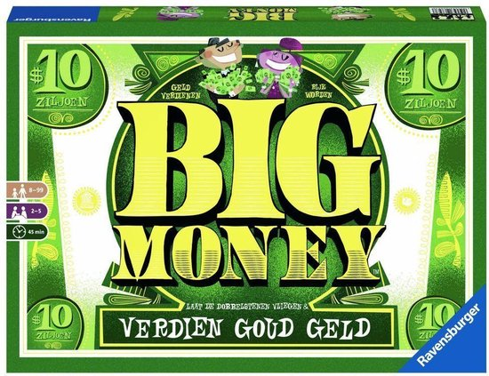 Ravensburger Big Money - Bordspel