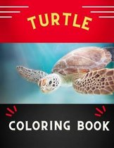 Turtle coloring book: Funny & easy turtle coloring book for kids, toddlers, boys & girls: A fun kid coloring book for beginners