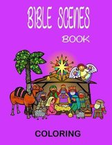 Bible Scenes Coloring Book