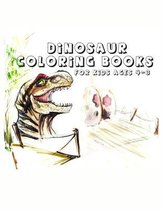 Dinosaur Coloring Books for kids 4-8