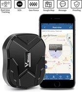 TKSTAR Magnetisch Waterbestendig GPS Tracker 90 Dagen Stand-by 5000mAh Batterij Echte Tijd Tracking Schok Alarm Gratis APP Geen Abonnement