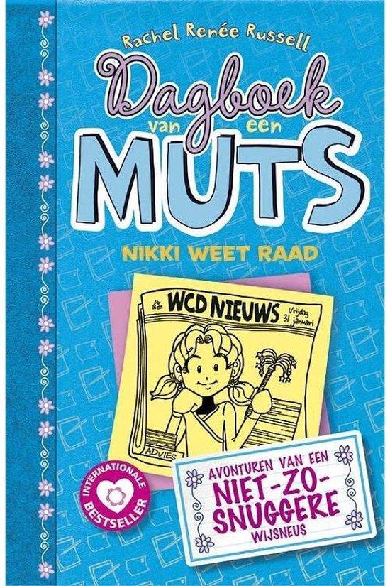 Omslag van Dagboek van een muts 5 -   Nikki weet raad