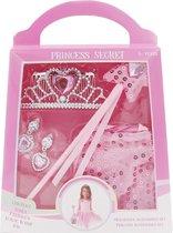 Prinsessen accessoires set - 5 delig - roze