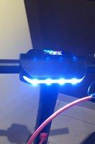 Elektrische Step voor volwassenen - Matrix E Bike Pro S - Maximale Snelheid 30km/h - 350 Watt Motor - Zwart