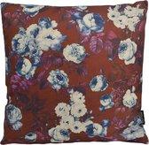 Retro Flowers Kussenhoes | Katoen / Linnen | 45 x 45 cm