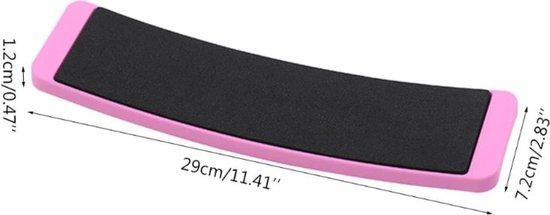 Turnboard: roze - Ideaal voor het verbeteren van pirouettes & thuis turnen | Turning Board | Turn Board