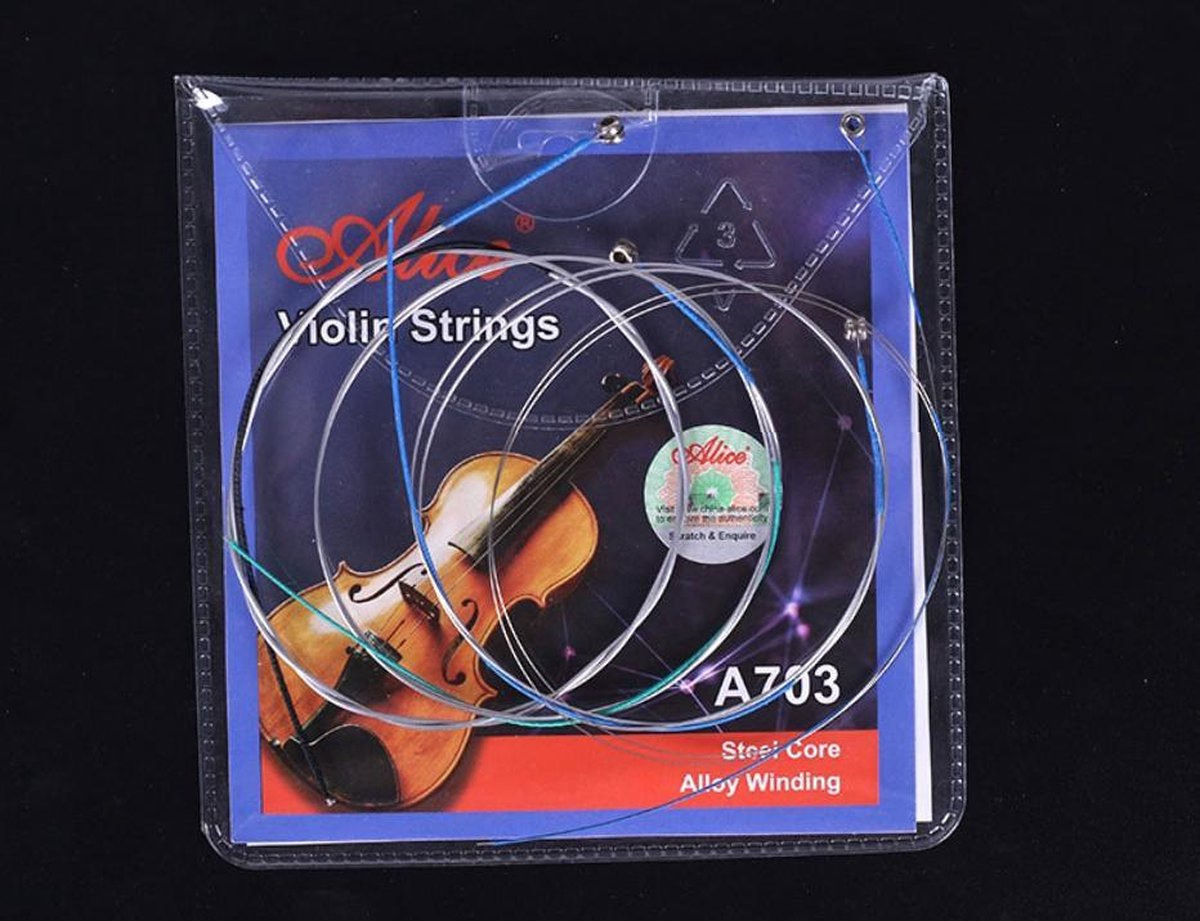 Snaren voor Viool - Vioolsnaren - Set viool snaren voor 4/4 of 3/4 viool