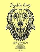 Mandala Dogs, Adult Coloring Book