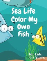 sea life color my own fish