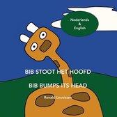Bib stoot het hoofd - Bib bumps its head